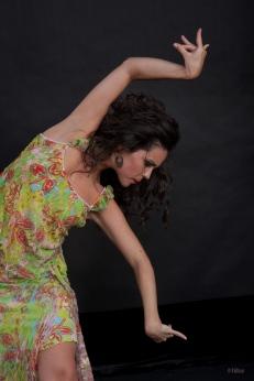 Foto Jesús Vallinas, bailarina Sara martín