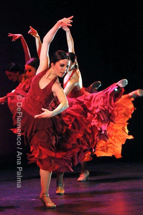 Sara martín en el Bolero de Ravel