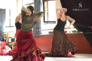 Curso Intensivo Bata de Cola junio 2015 Sara Martin Flamenco 3