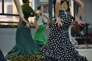 Curso Intensivo Bata de Cola junio 2015 Sara Martin Flamenco 4