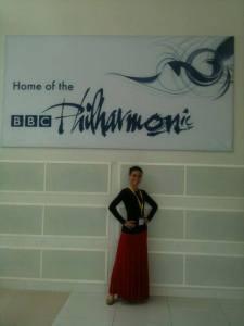 En la sede de la filarmónica de Londres