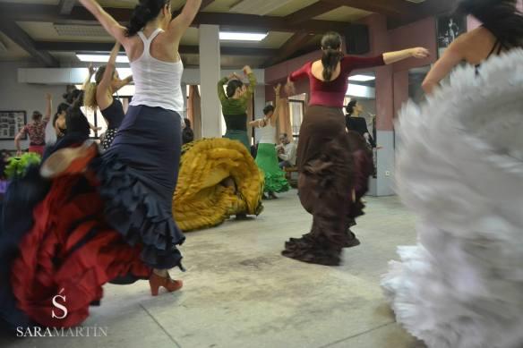 Curso Intensivo Bata de Cola, Sara Martín Flamenco