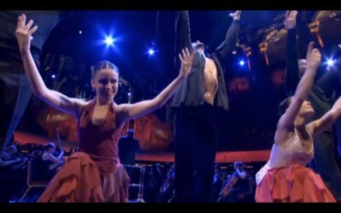 Sara Martín Flamenco , Royal Albert hall Compañía de Antonio Marquez
