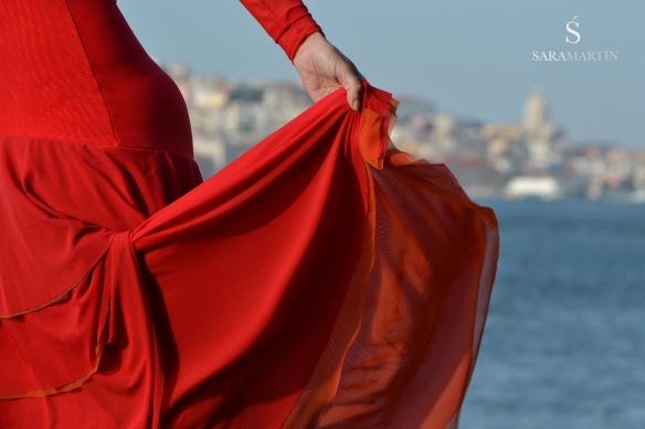 Clases de Sevillanas en Madrid, Sara Martín Flamenco