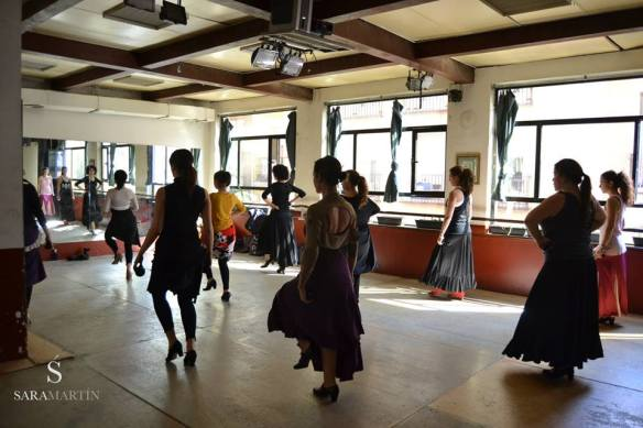 Sara Martín Flamenco Clases Madrid