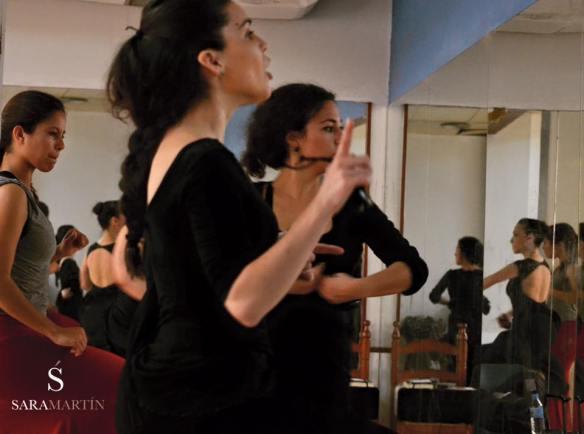 Sara Martín Flamenco Fotografía: Jesús Vallinas