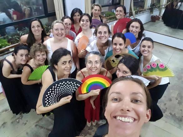 Clases de Flamenco en Madrid con Sara Martín Flamenco